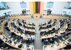 Seimas nepritarė Viktoro Pranckiečio atleidimui iš Seimo Pirmininko pareigų