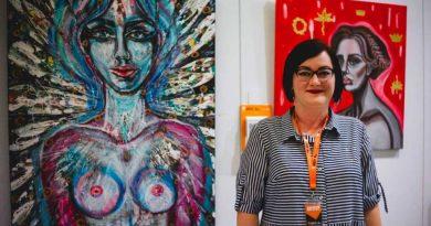 Erikos Petunovienės moteriškumo idėja Florencijos bienalėje