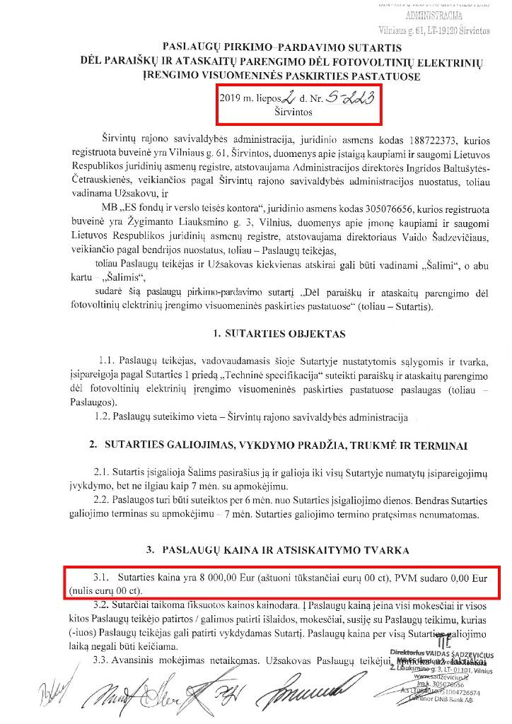 ataskaitų apie akcijų pardavimo pardavimo deklaraciją pateikimas