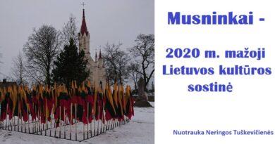 Rugsėjį LRT laidą transliuos iš Musninkų