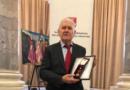 """Juozas Vercinkevičius apdovanotas Tautinių mažumų departamento Aukso garbės ženklu """"Už nuopelnus"""""""